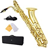 Mendini by Cecilio MBS-30L Saxophone Baryton Laqu�