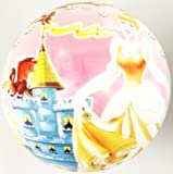 Inflatable Princess PVC Plastic Football Play Beach Ball Kid Girl Party Child Pool Birthday Garden Summer Fun 23cm