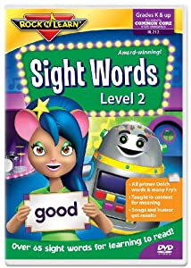 Rock and Learn Sight Words Level 2 [DVD]
