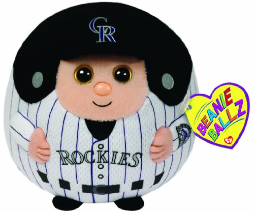 Ty Beanie Ballz MLB Colorado Rockies Plush