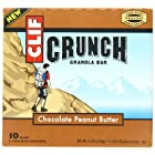 Clif Crunch Granola Bar, Chocolate Peanut Butter, 5 Two-Bar Pouches