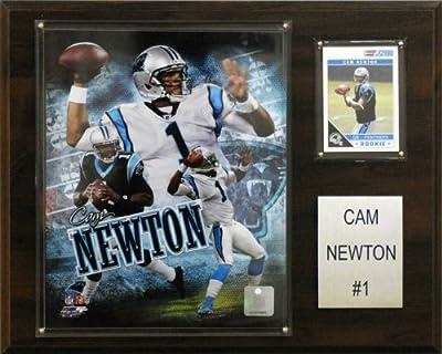 NFL Cam Newton Carolina Panthers Player Plaque