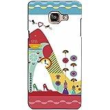 PrintVisa Designer Back Case Cover For Samsung Galaxy On Max (Ballerina For A Modern Girl)