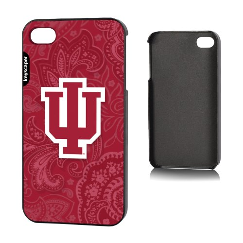 Indiana Hoosiers Iphone 4/4S Slim Case Paisley Ncaa