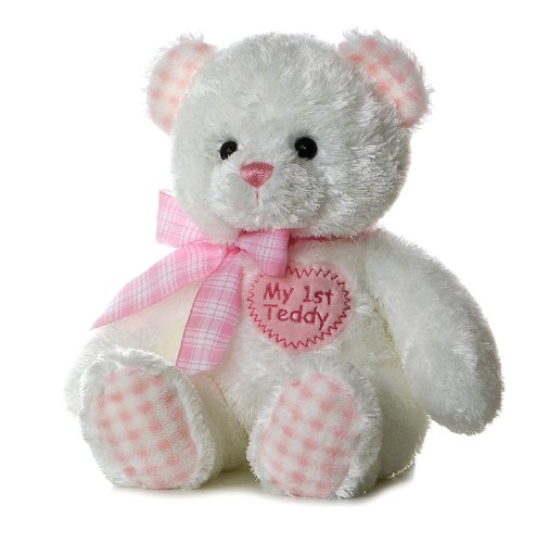 "Plush Baby 14"" Pink My First Teddy Bear"