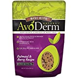 AvoDerm Natural Baked Biscuits, Oatmeal and Berries, 20-Ounce