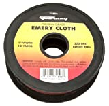 Forney 71806 Emery Cloth, 320-Grit, 1-Inch-by-10-Yard Bench Roll