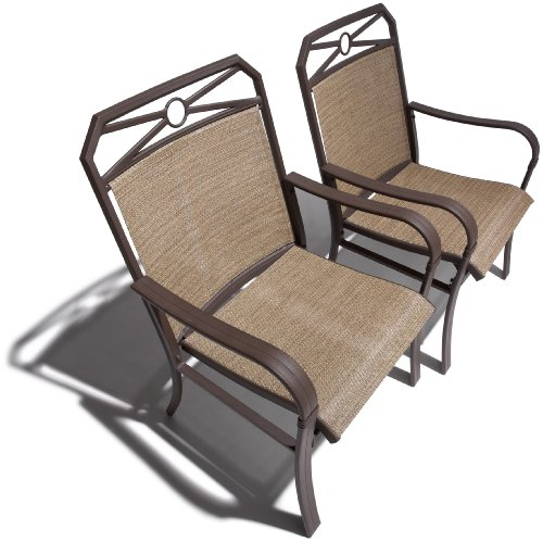 Strathwood Rawley Sling Chair, Set of 2