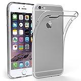 Simpeak iPhone 6 用 TPUクリア透明ケース保護カバー