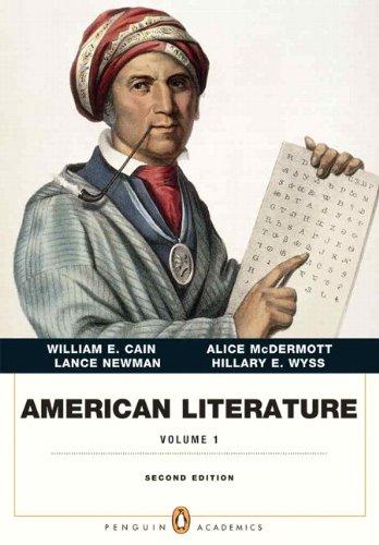 American Literature, Volume 1 (Penguin Academics Series) Plus NEW MyLiteratureLab -- Access Card Package (2nd Edition)