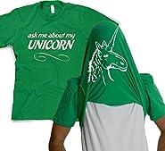 Funny Unicorn Flip T-Shirt - Turn Into a Magical Unicorn Shirt