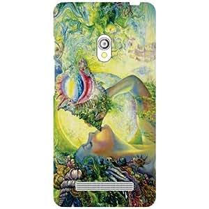Asus Zenfone 5 A501CG Back Cover - Spirituality Designer Cases