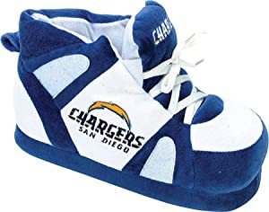 San Diego Chargers UNISEX High-Top Slippers by Comfy Feet