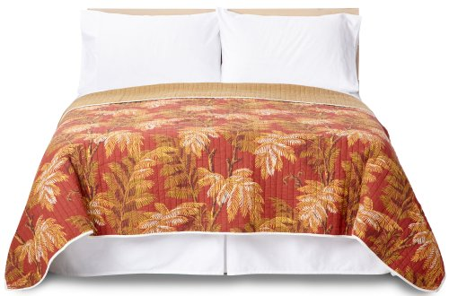 Tommy Bahama Orange Cay King Quilt Multi King front-1006609