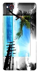 TrilMil Premium Design Back Cover Case For ZTE Nubia Z9 Mini