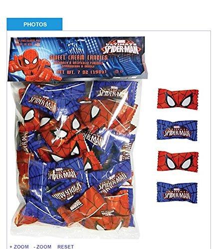 Ultimate Spiderman Sweet Cream Candies