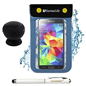 Sumaclife Blue Waterproof Dry Pouch Bag Case