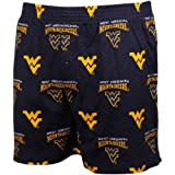 NCAA West Virginia Mountaineers Supreme Men's Boxers, Navy, Small at Amazon.com