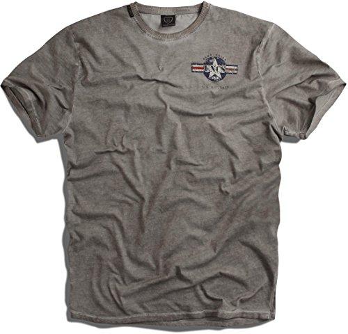uncs-herren-t-shirt-s-6xl-bombardier-neue-kollektion-2016-grau-oil-xl