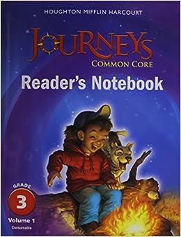 Amazon Com Journeys Common Core Reader S Notebook border=