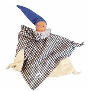 Kathe Kruse Waldorf Towel Doll, Blue