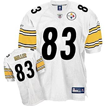Heath Miller Pittsburgh Steelers Youth White Jersey X-Large 18-20