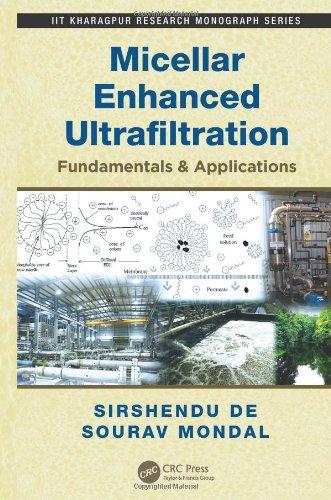 Micellar Enhanced Ultrafiltration: Fundamentals & Applications (IIT Kharagpur Research Monograph Series)