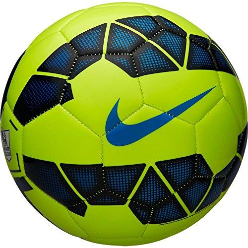 NIKE, Pallone da calcio, Giallo (Volt/Black), 5