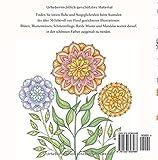 Image de Bunter Blumenzauber: Ausmalen und Entspannen, ein Malbuch für Erwachsene