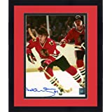 Framed Bobby Orr Chicago Blackhawks Autographed 8x10 Skating With Helmet Off Photograph - Mounted... by Sports Memorabilia