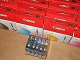 Genuine Canon 5 Ink Cartridge Set
