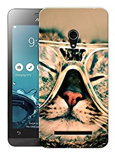 """Humor Gang Cool Pussy Printed Designer Mobile Back Cover For """"Asus Zenfone 6"""" (3D, Matte, Premium Quality Snap On Case)"""