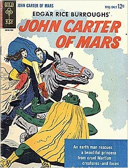 john carter of mars books amazon