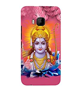 Lord Rama 3D Hard Polycarbonate Designer Back Case Cover for HTC One M9 :: HTC M9 :: HTC One Hima