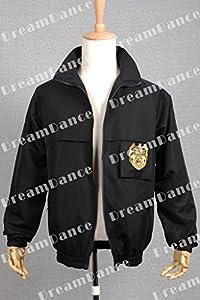 DreamDance NCIS Staff Cosplay Costume Jacket Coat Uniform Black