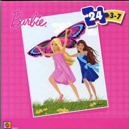 Barbie 24 Piece Puzzle - Butterfly - 1