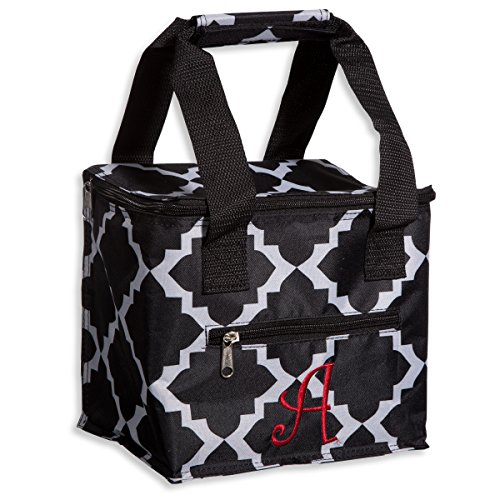 Home Essentials Lunch Tote 15asst Blk/wht Quat