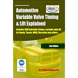 Automotive Variable Valve Timing & Lift