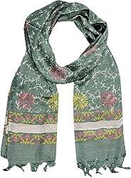 Sahiba Creation multicolour silk stoles for women