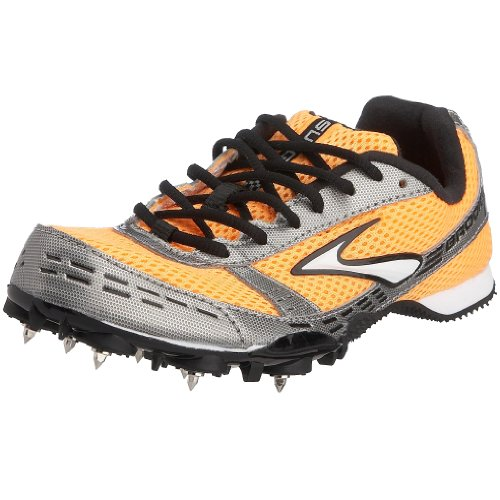 Brooks Women's Surge MD Running Shoe Dayglo orange/Grey 7.5 UK