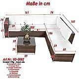 XINRO-XXXL-Polyrattan-Lounge-Set-Lounge-Mbel-Lounge-Sofa-Garnitur-fr-6-Personen-mit-Tisch-Fusskocker-Kissen-Rattan-Garnitur-Sitzgruppe-InOutdoor-handgeflochten-braun