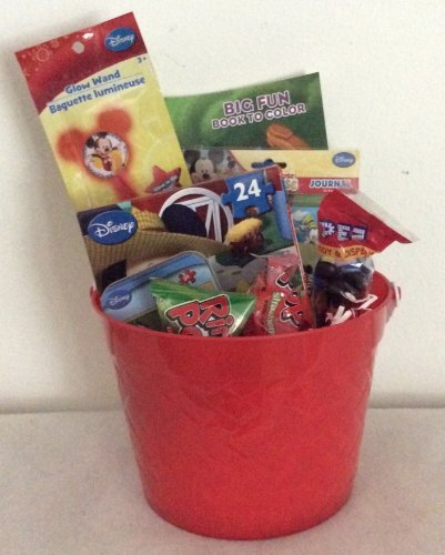 Disney Mickey Mouse Easter Birthday Basket front-638715