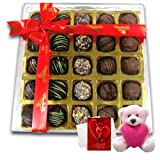 Great Expressions Of Chocolates With Teddy And Love Card - Chocholik Belgium Chocolates