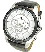 Tommy Hilfiger Chronograph Leather Mens Watch - 1781144