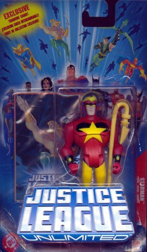 "STARMAN JUSTICE LEAGUE UNLIMITED 4.5"" POSEABLE ACTION FIGURE"