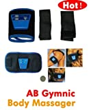 AB GYMNIC BELT ABS MUSCLE TONING SIX PACK WAIST FITNESS GYM SLIMMING Brand New