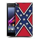 Head Case Designs Rebel Flag Redneck Pride Hard Back Case Cover for Sony Xperia Z1 C6902