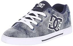 DC Women\'s Chelsea SE Skate Shoe, Denim, 8 M US