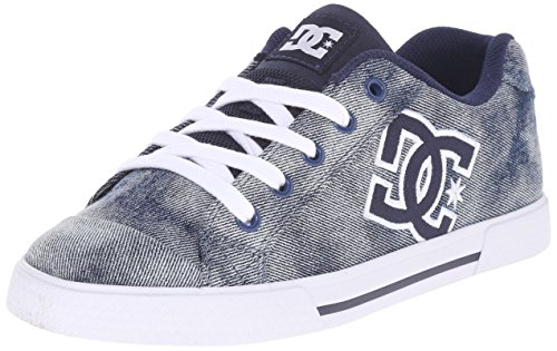 DC Women's Chelsea SE Skate Shoe, Denim, 8 M US
