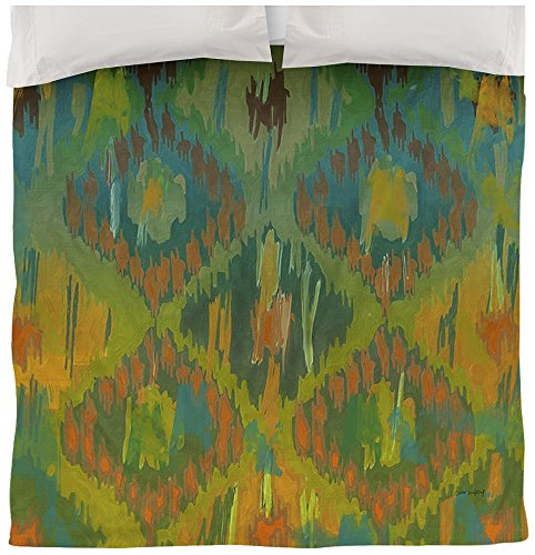 Manual Woodworkers & Weavers Duvet Cover, King, Koolkat One (Tye Dye Quilt compare prices)